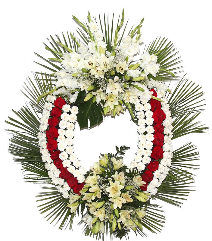 Corona de flores naturales modelo 7 coronas flores - Coronitas de flores ...