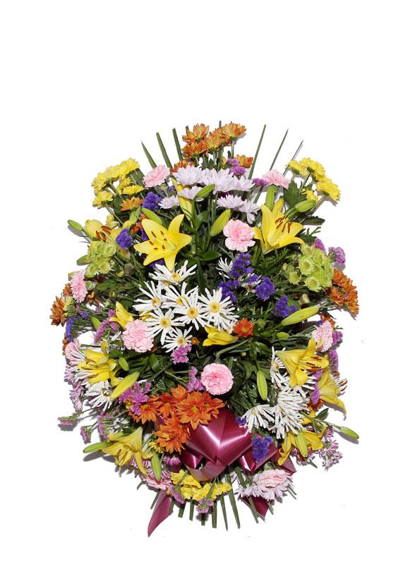 Palma flores naturales modelo 6 palmas flores naturales tienda online los jardines - Esquelas leon los jardines ...