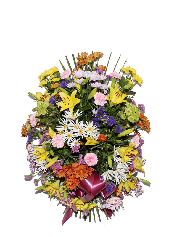Palma flores naturales modelo 6 palmas flores naturales for Los jardines esquelas