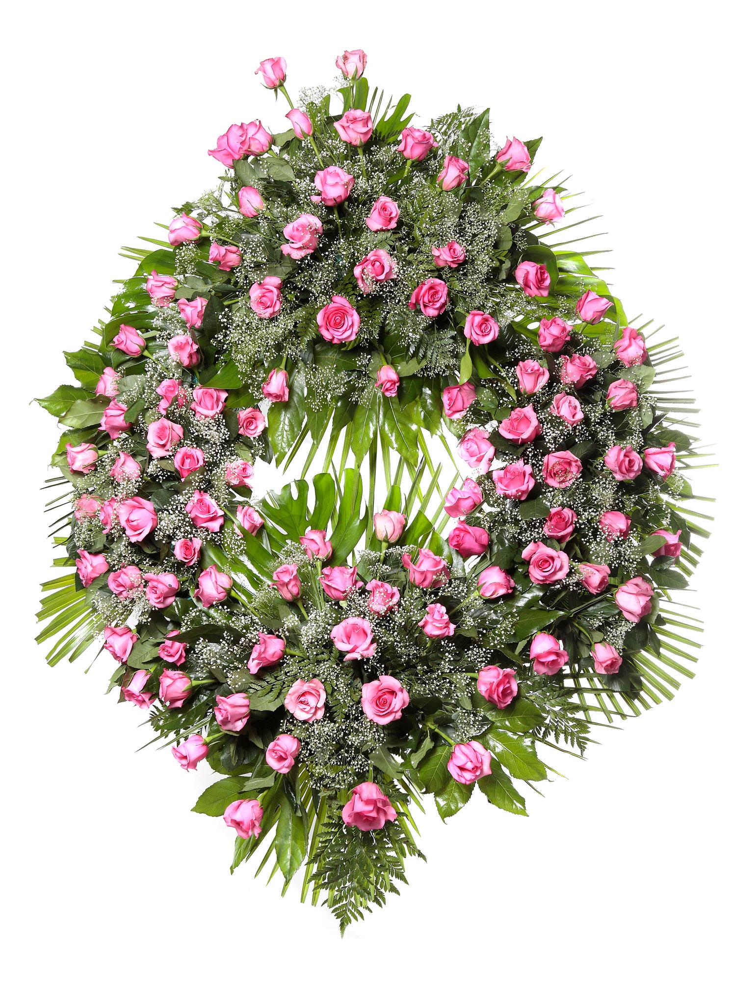 Corona flores tanatorio 9 c coronas tanatorios en le n - Modelos de coronas ...
