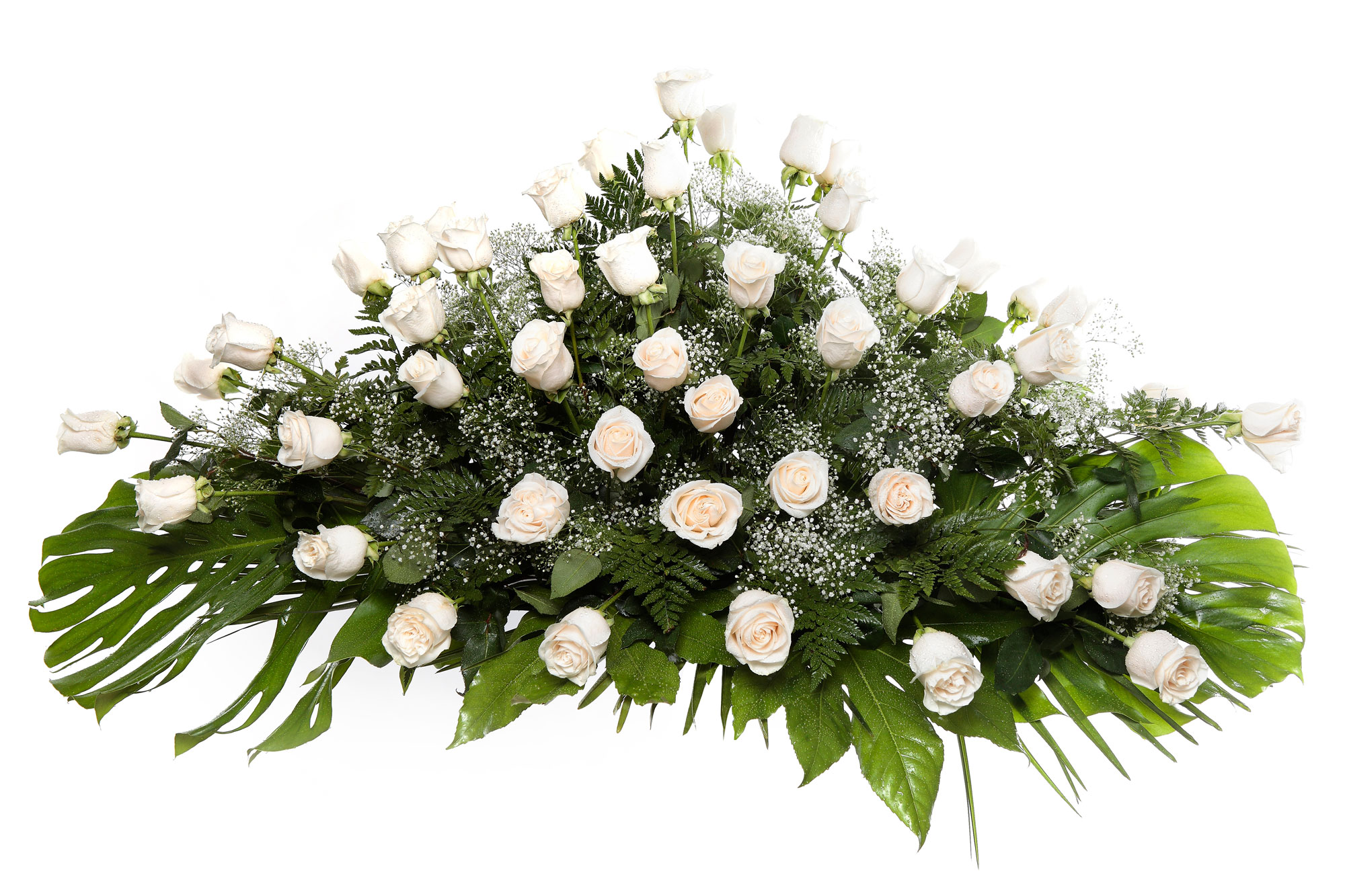 Palma flores tanatorio 12 b palmas flores naturales for Tanatorio los jardines carrizo
