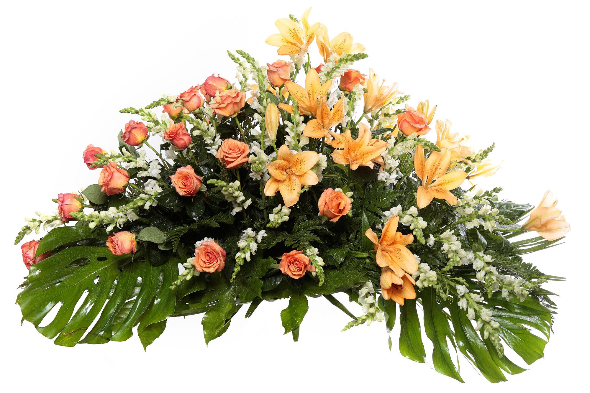 Palma flores tanatorio 12 e palmas flores naturales for Los jardines esquelas