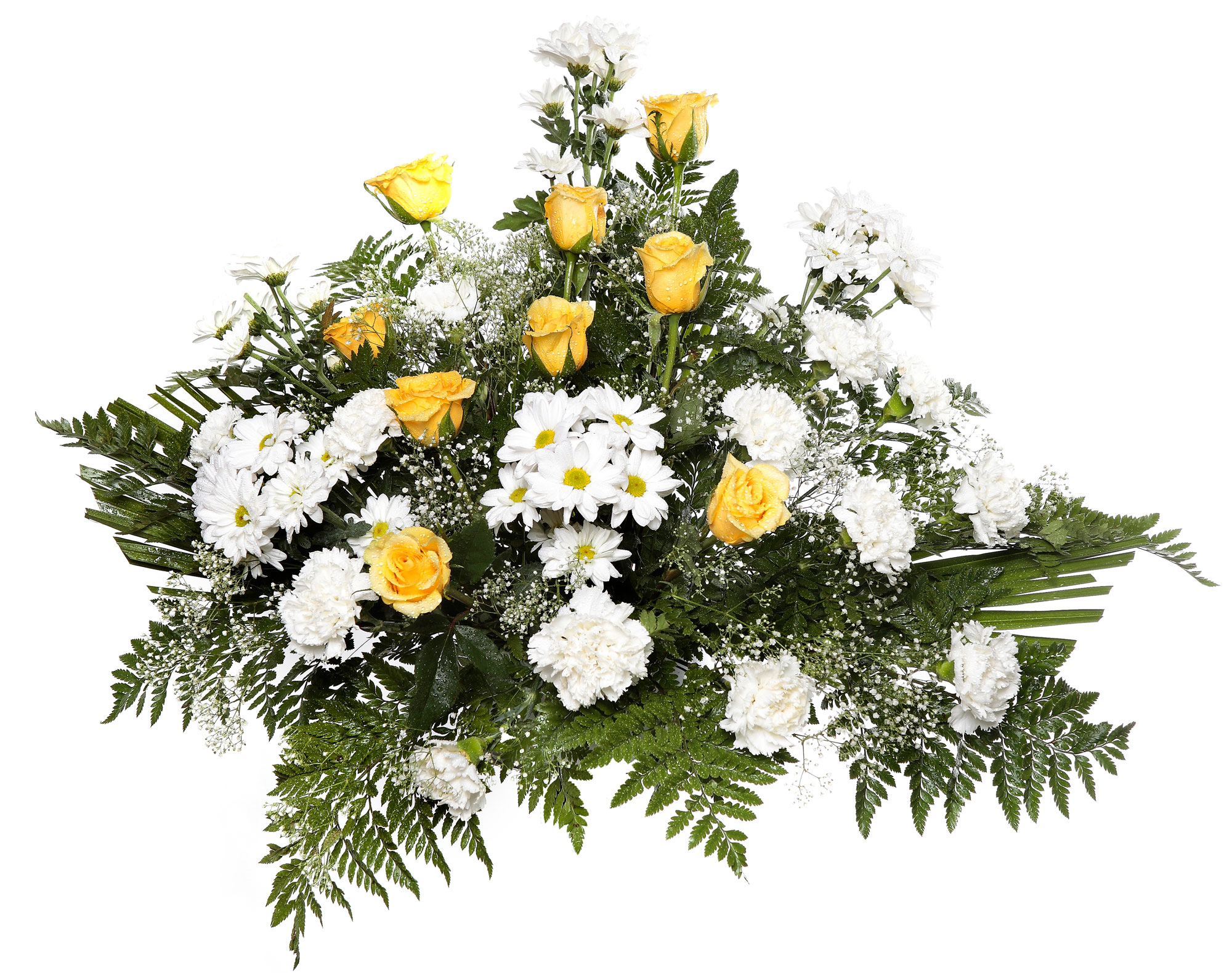 Centro tanatorio 2 detalles flores naturales tienda - Centros de flores naturales ...