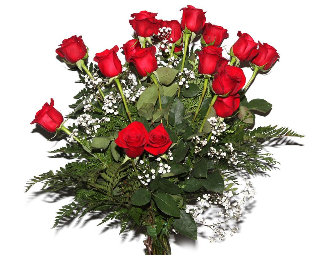 Ramo De 18 Rosas Rojas Ramos Flores Naturales Tienda Online Los