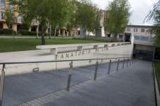 Entrada Tanatorio de León - Serfunle
