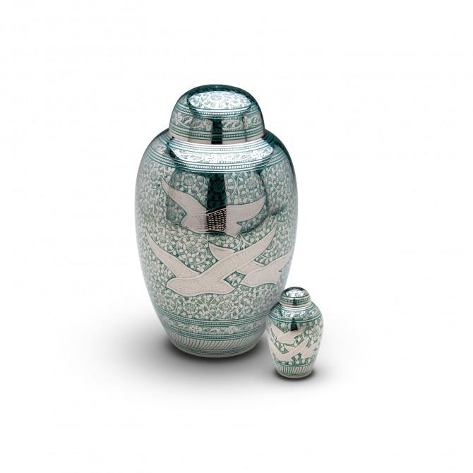 Urna cenizas hu 139 urnas de lat n urnas para cenizas for Tanatorio los jardines carrizo