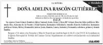 Esquela Diario de León - 6 módulos