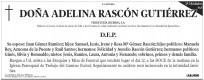 Esquela Diario de León - 15 módulos