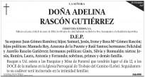 Esquela Diario de León - 20 módulos