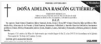 Esquela de Aniversario Diario de León - 6 módulos