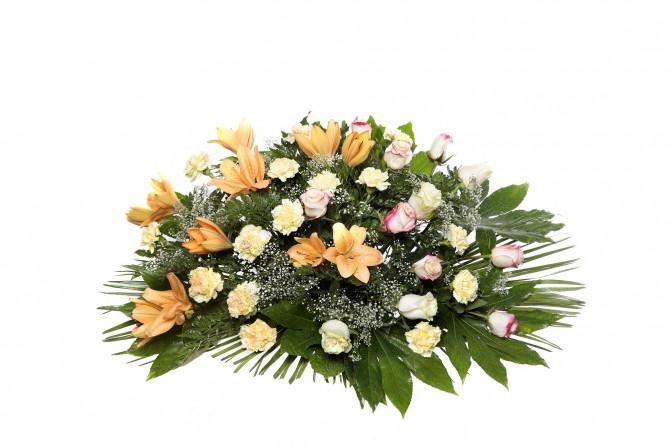 Palma flores tanatorio 6 y palmas flores naturales for Los jardines esquelas