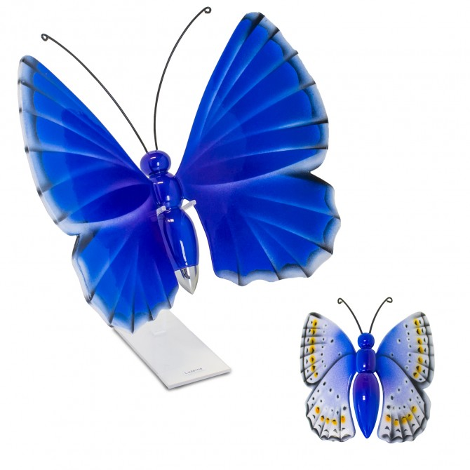 Relicario cenizas mariposa vl 004 s mariposas urnas para for Tanatorio los jardines carrizo